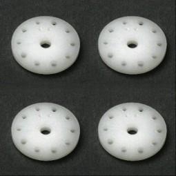 RC8 Kolben-Platten 16mm FACTORY TEAM Delrin, konisch (4)