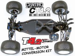 CT4.2 CENTRO Mittel-Motor-Conversion für RC10T4.1 & T4.2