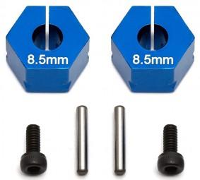 T5M/B5M Klemm-Felgen-6Kant-Mitnehmer 12x8,5mm, Alu, Blau (2)