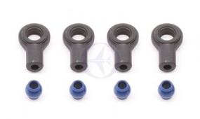 Stoßdämpfer-Kugel-Pfannen & Alu-Kugeln, Blau (4)